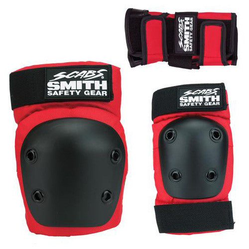 Smith Scabs Jr Three Pack skate pads set