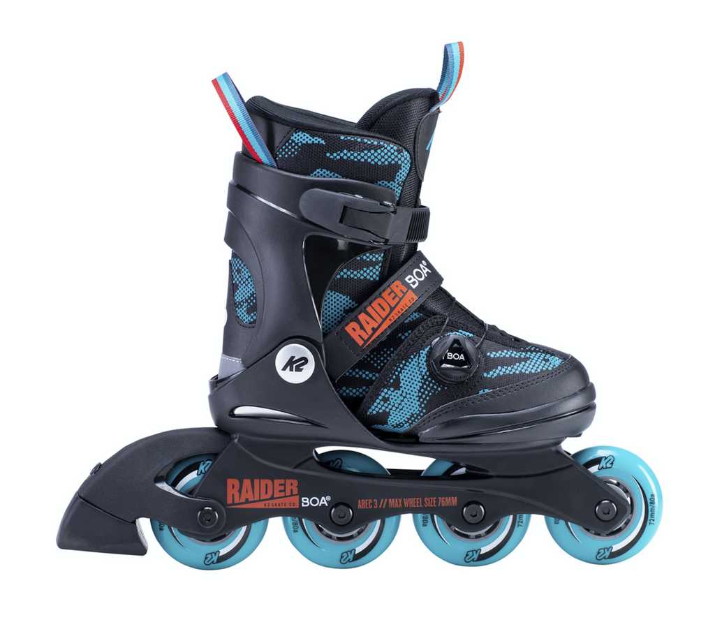K2 Raider Jr BOA adjustable inline skates