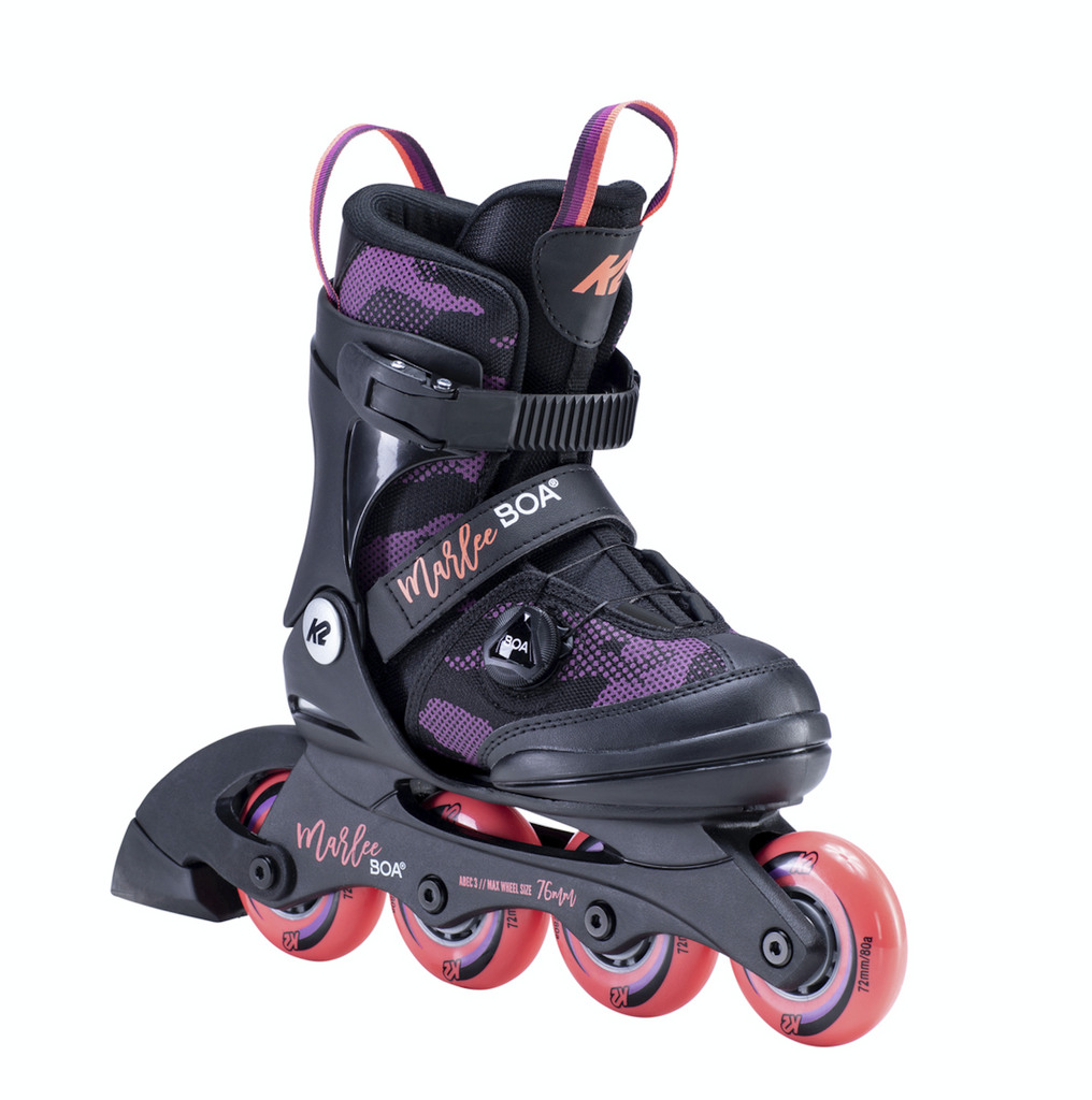 K2 Marlee Jr BOA adjustable inline skates
