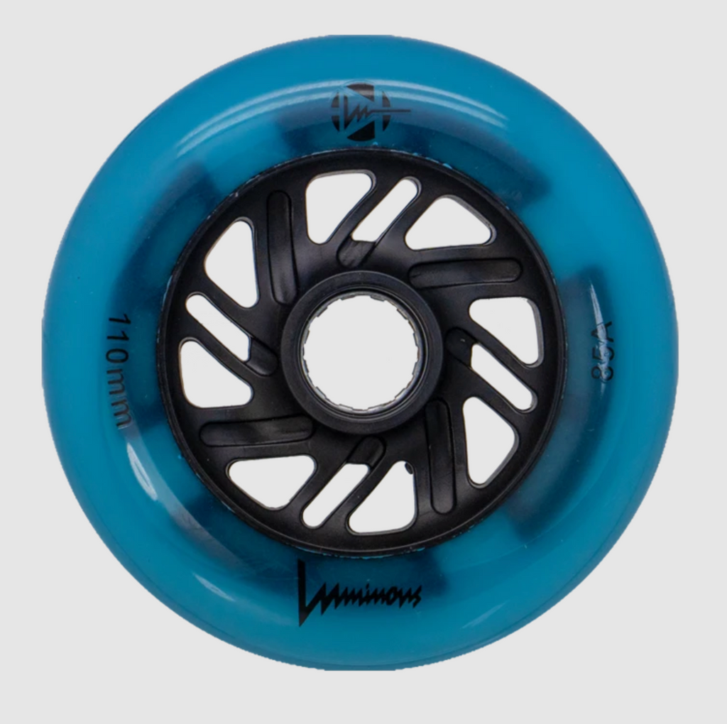 Luminous 110mm INLINE SKATE light up wheels