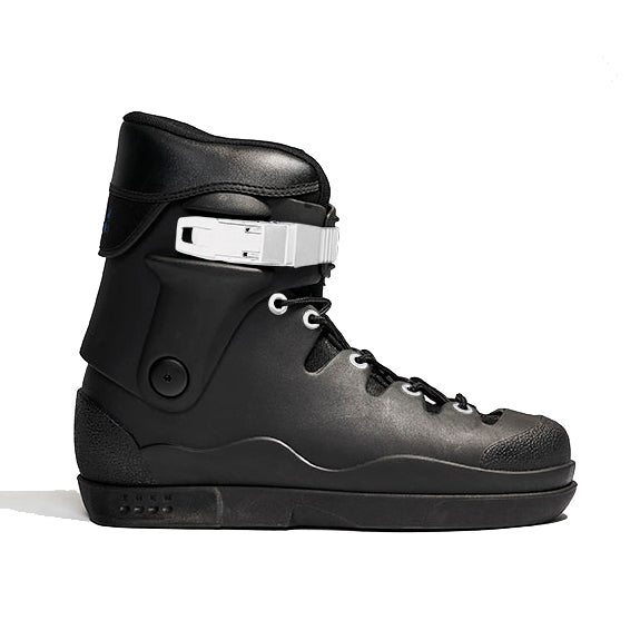 Them Black w/White Buckle skates