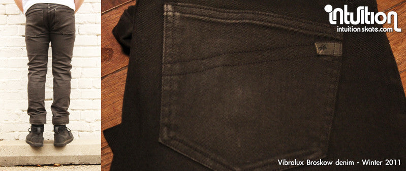 Vibralux Broskow Charcoal jeans