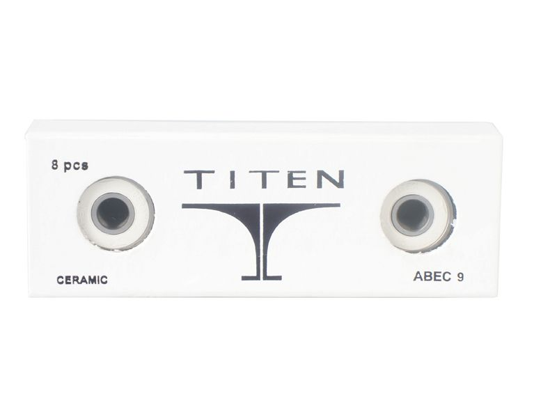 Titen Ceramics skate bearings