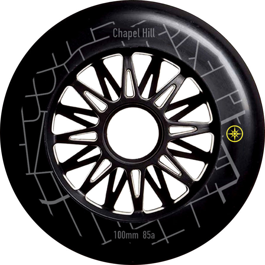 Compass 100mm Chapel Hill inline wheel