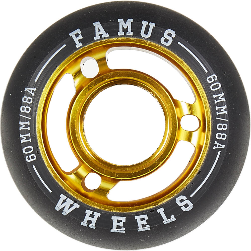Famus 60mm inline skate wheels
