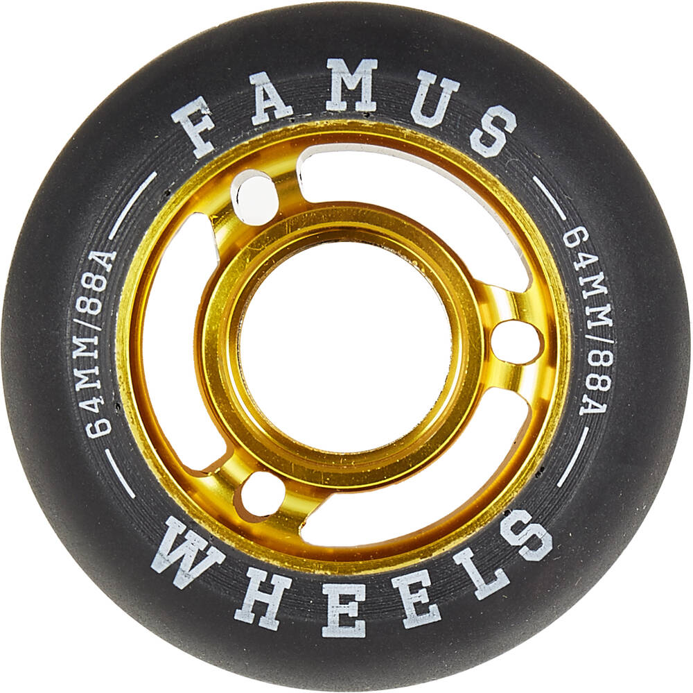 Famus 64mm inline skate wheels