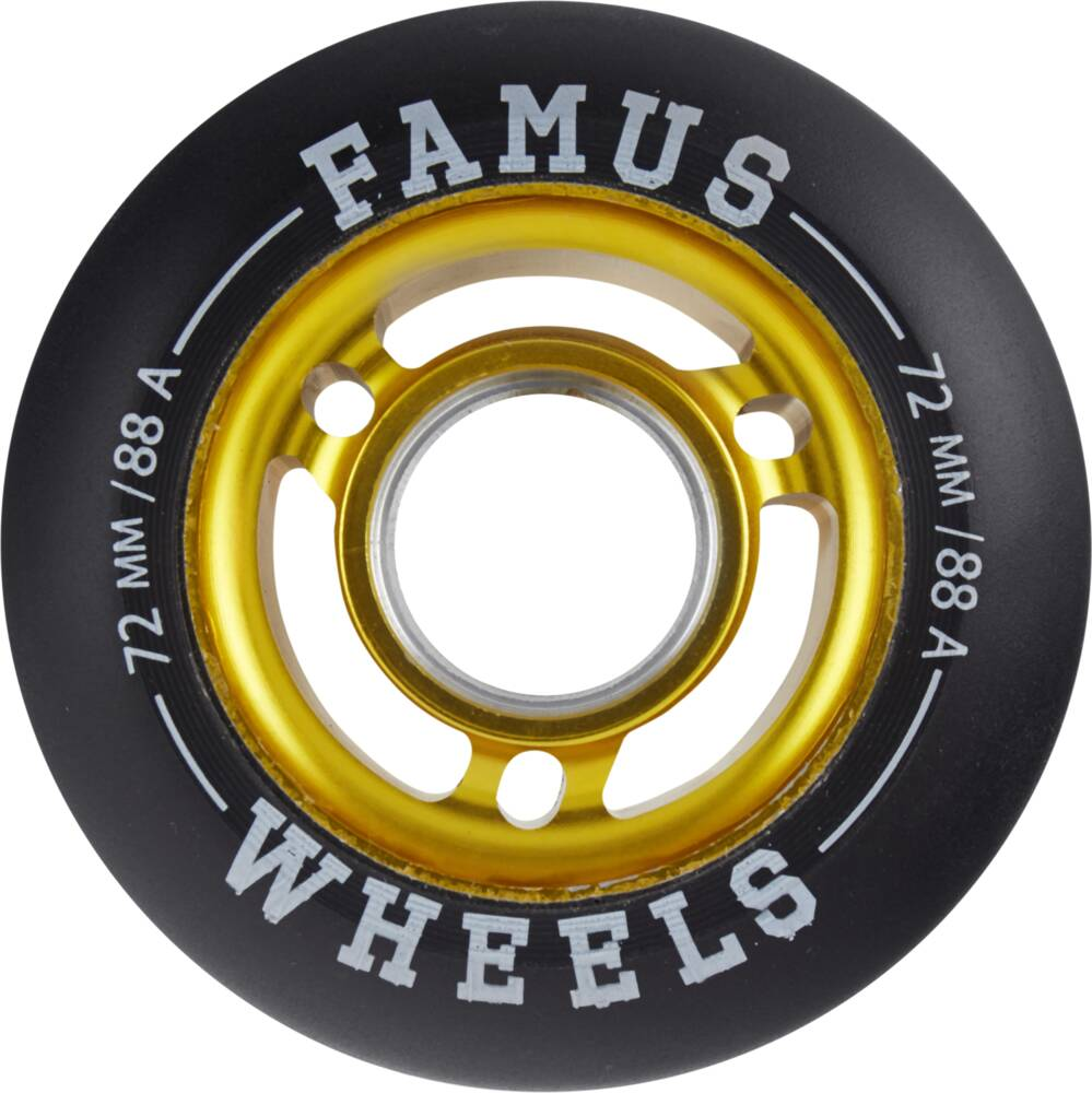 Famus 72mm inline skate wheels