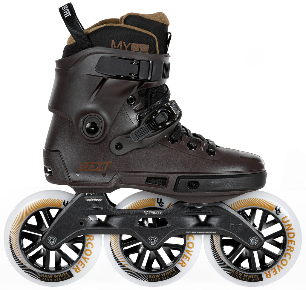 Powerslide Next Brown 125mm inline skates