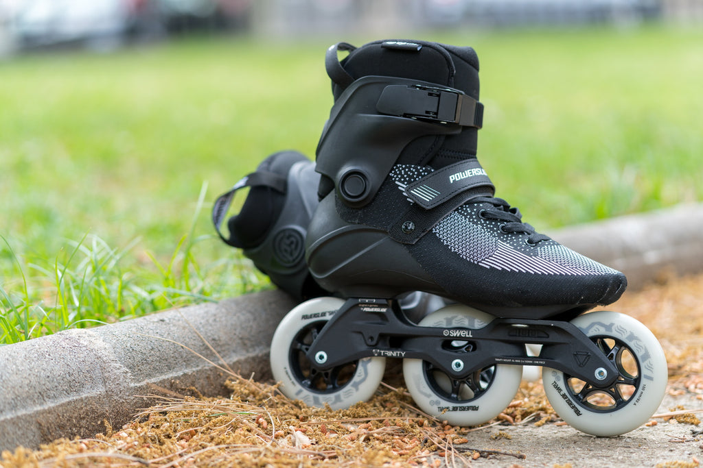 Powerslide Swell Lite Black 100mm inline skates