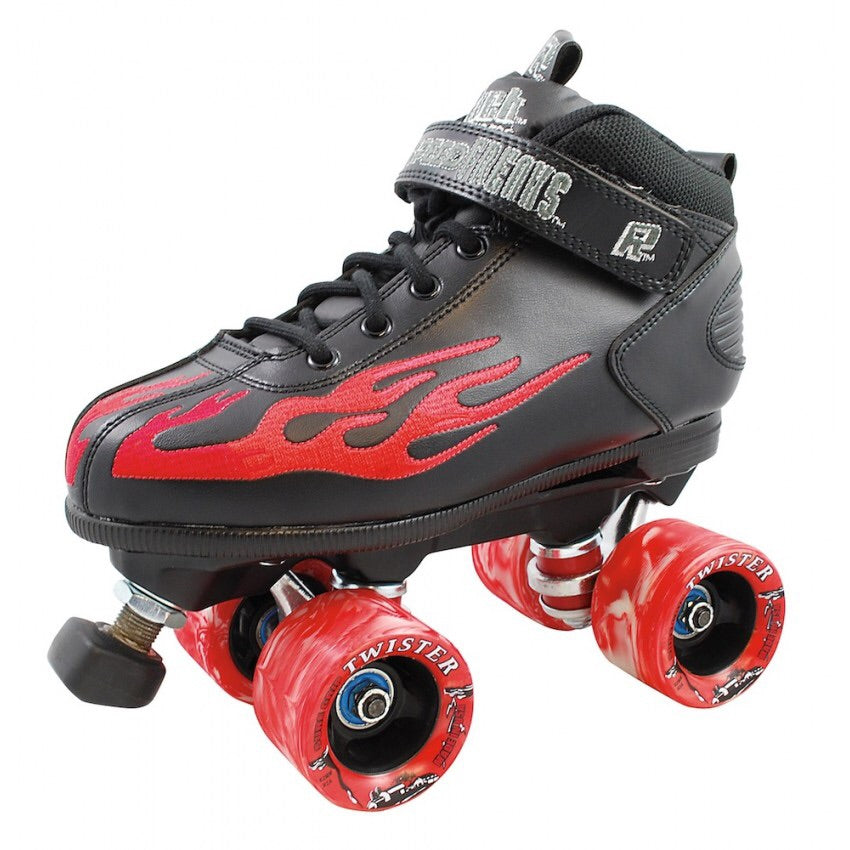 Sure Grip Rock Flame Roller Skates