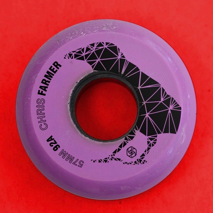 Red Eye Chris Farmer inline wheel