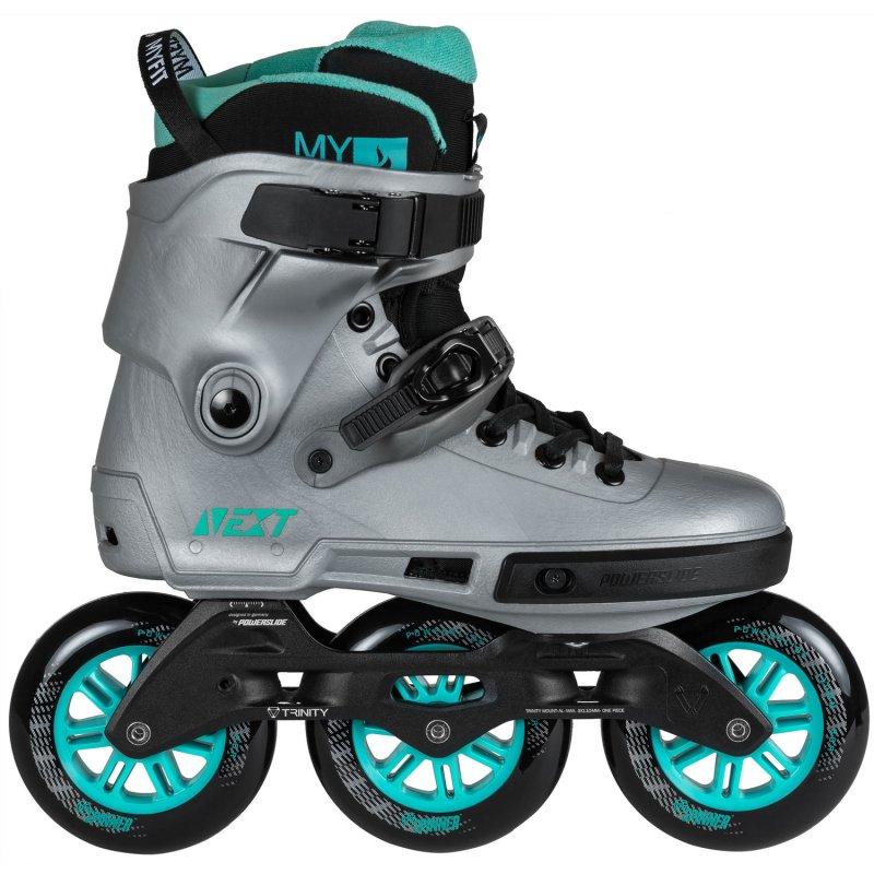 Powerslide NEXT 110 Arctic Gray skates