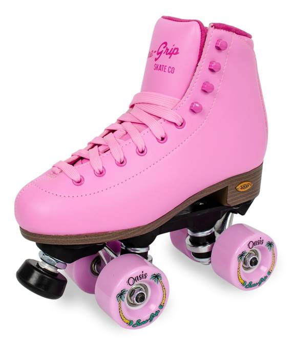 Sure Grip Passion Pink roller skates