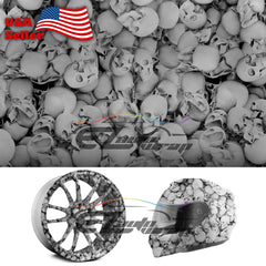 "19""x 38"" Hydrographic Film Skull Skeleton #13"