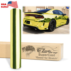 Supercast Easy Stretch Chrome Yellow Vinyl