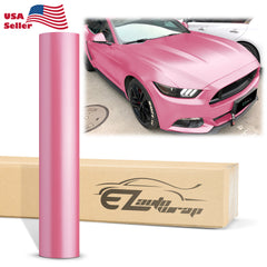 Matte Metallic Satin Pearl Princess Pink Vinyl Wrap