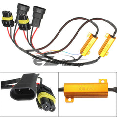 9005/9006 HID Conversion Kit Resistors Wiring Harness  x2