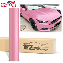 Matte Metallic Satin Pearl Diamond Pink Vinyl Wrap