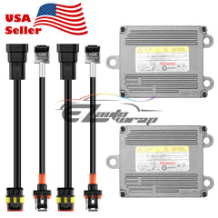 2x D1S D1R D1C HID Ballast Xenon Replacement with AMP Cable