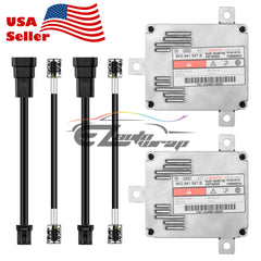 2x D3S D3R D4S D4R HID Ballast Xenon Replacement with AMP Cable