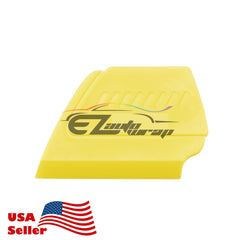 Hard-edge Precision Detailer Yellow Squeegee