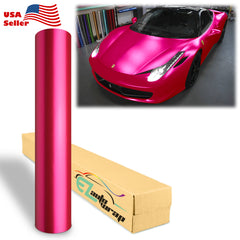 Anodized Chrome Pink Vinyl Wrap