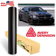 Avery Dennison SW900 Gloss Black Vinyl Wrap