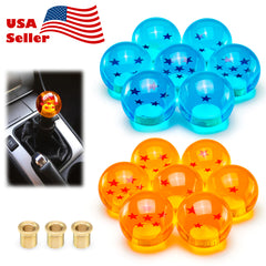 Universal Dragon Ball Z 54mm Shift Knob With Adapters Fit Most Cars