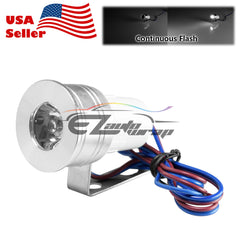 White LED Flash Light 1W 12V