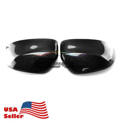 BMW F15/16/25/E26 X3/4/5/ Real Carbon Fiber Side Mirror Covers