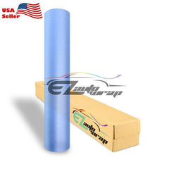 Matte Glitter Light Blue Taillight Headlight Tint Film