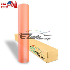 Matte Glitter Orange Taillight Headlight Tint Film