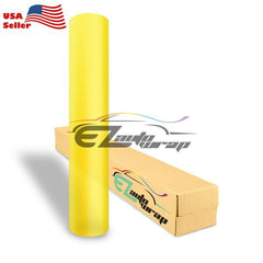 Matte Glitter Yellow Taillight Headlight Tint Film