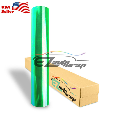 Chameleon Neo Pearl Green Taillight Headlight Tint Film