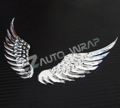 3D Eagle Metal Decal Emblem (Chrome)