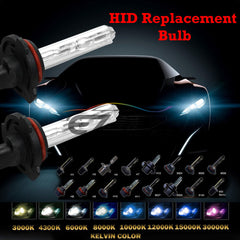 Xenon Replacement HID Light Bulbs H4 H7 H10 H11 H13 9004 9005 9006