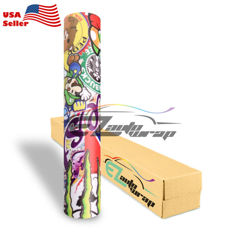 Anime Stickerbomb Vinyl #ST