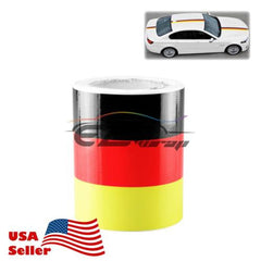 Germany Flag Porsche Racing Stripe Car Sticker