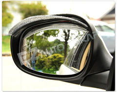 Mirror Visors Rain Guards Clear