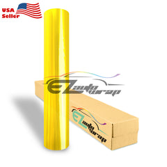 Glossy Taillight Headlight Golden Yellow Tint Film