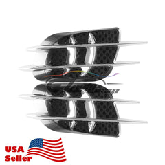 Universal Black Chrome Vents