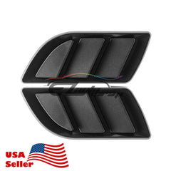 Universal ABS Black Vents