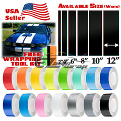 "Gloss Racing Stripe 2"" 4"" 6"" 8"" 10"" 12"" / 25FT"