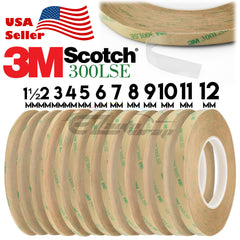3M™ 300LSE Double Sided Clear Tape 55M 180FT Phone Screen LCD
