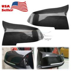 2013-2017 BMW Real Carbon Fiber Side Mirror Covers PC-MC08