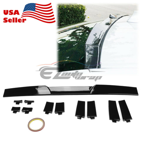 Gloss Black Trunk Adjustable Spoiler PC-RSP18BK