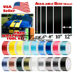 "Matte Metallic Satin Pearl Racing Stripe 8"" 10"" 12"" / 25FT"