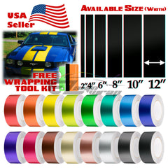 "Satin Chrome Racing Stripe 2"" 4"" 6"" 8"" 10"" 12"" / 25FT"