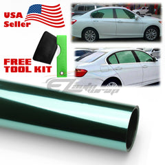 Uncut Roll Green Chrome Window Tint Film
