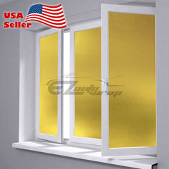 Frosted Yellow Glass Film